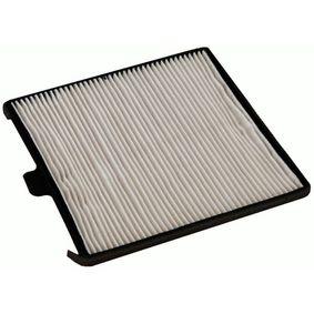 Filter, Innenraumluft Länge: 197mm, Breite: 188mm, Höhe: 10mm mit OEM-Nummer 96 425 700