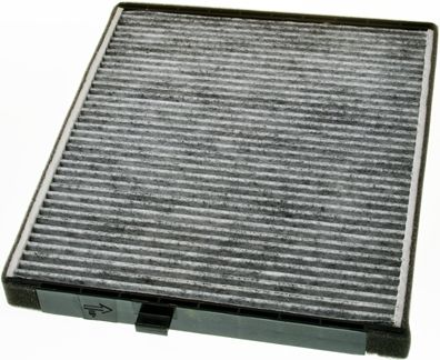 DENCKERMANN  M110594K Filtro, aire habitáculo Long.: 240mm, Ancho: 202mm, Altura: 19mm
