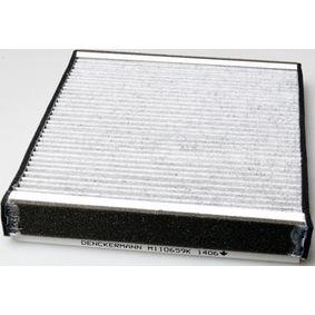 Filter, Innenraumluft Länge: 272mm, Breite: 234mm, Höhe: 32mm mit OEM-Nummer 1718 042