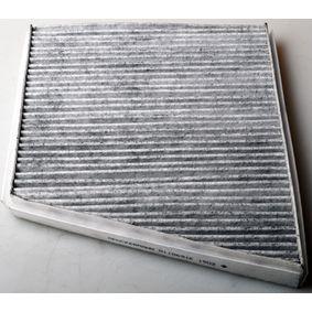 Filter, Innenraumluft Länge: 310mm, Breite: 255mm, Höhe: 34mm mit OEM-Nummer A211 830 00 18