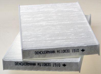 DENCKERMANN  M110830 Filter, Innenraumluft Länge: 217mm, Breite: 107mm, Höhe: 17mm