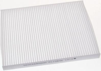 DENCKERMANN  M110836 Filter, Innenraumluft Länge: 230mm, Breite: 180mm, Höhe: 20mm