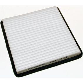Filter, Innenraumluft Länge: 200mm, Breite: 185mm, Höhe: 20mm mit OEM-Nummer 95947238