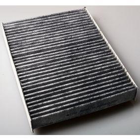 Filter, Innenraumluft Länge: 263mm, Breite: 195mm, Höhe: 38mm mit OEM-Nummer 415 835 1100