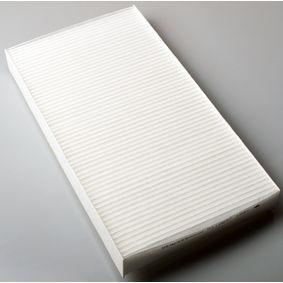 Filter, Innenraumluft Länge: 289mm, Breite: 160mm, Höhe: 30mm mit OEM-Nummer 2 995 965