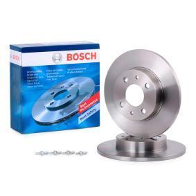 Disco freno (0 986 478 342) per per Indicatore Direzione Laterale FIAT SEICENTO (187) Elettrica dal Anno 03.2000 30 CV di BOSCH