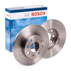Bremsscheiben für OPEL CORSA C (F08, F68) 1.2 75 PS ab Baujahr 09.2000 BOSCH Bremsscheibe (0 986 479 189) für