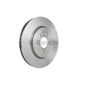 Bremsscheibe Bremsscheibendicke: 28,1mm, Lochanzahl: 6, Ø: 320mm mit OEM-Nummer 40206-3X00B