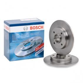 Bremsscheibe Bremsscheibendicke: 9mm, Lochanzahl: 4, Ø: 249mm mit OEM-Nummer 424965