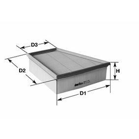 Luftfilter Höhe: 69mm mit OEM-Nummer 5Z0129620A
