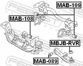 Lagerung, Differential FEBEST MAB-109 Bewertung