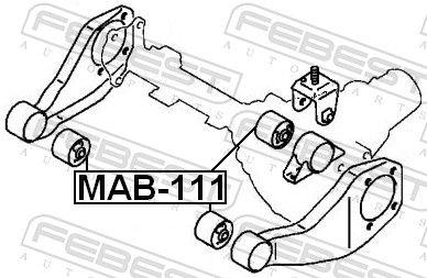 Lagerung, Differential FEBEST MAB-111 Bewertung