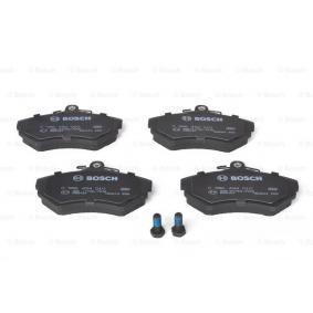 Bremsbelagsatz, Scheibenbremse Breite: 118,8mm, Höhe: 69,5mm, Dicke/Stärke: 15mm mit OEM-Nummer 6N0698151A