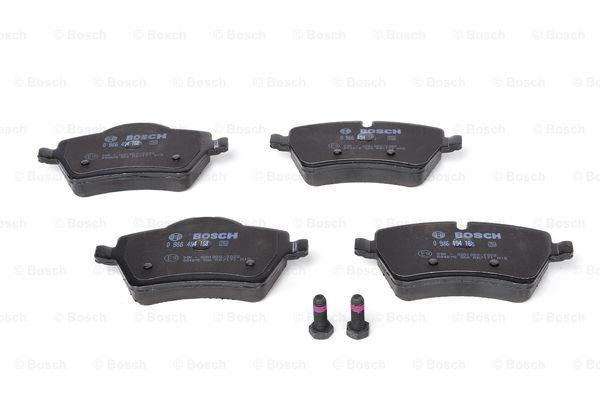Bremsbelagsatz BOSCH 8324D1208423D130 Bewertung