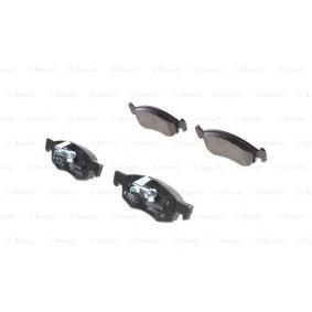Bremsbelagsatz, Scheibenbremse Breite 1: 150,1mm, Breite 2: 151,3mm, Höhe: 52,5mm, Dicke/Stärke: 17,5mm mit OEM-Nummer 4106000Q0C
