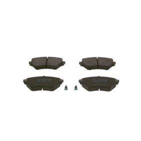 Bremsbelagsatz, Scheibenbremse Breite: 123mm, Höhe: 58,5mm, Dicke/Stärke: 16mm mit OEM-Nummer NCY3-3328Z