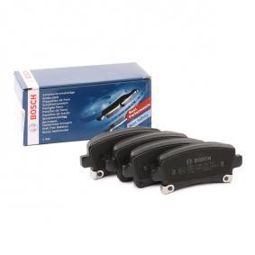 Brake Pad Set, disc brake Width: 106,5mm, Height: 47,1mm, Thickness: 17,2mm with OEM Number 16 05 319