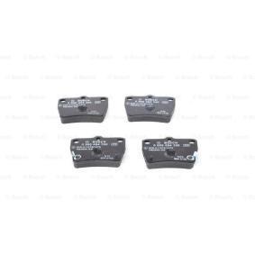 Brake Pad Set, disc brake 0 986 494 350 RAV 4 II (CLA2_, XA2_, ZCA2_, ACA2_) 2.0 MY 2003