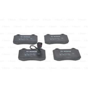 Bremsbelagsatz, Scheibenbremse Breite: 109,8mm, Höhe: 69,2mm, Dicke/Stärke: 15mm mit OEM-Nummer 3068385-8