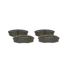 Bremsbelagsatz, Scheibenbremse Breite: 116,2mm, Höhe: 44,7mm, Dicke/Stärke: 17,8mm mit OEM-Nummer 04466 60 140