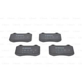 Bremsbelagsatz, Scheibenbremse Breite: 109,7mm, Höhe: 69,3mm, Dicke/Stärke: 14,8mm mit OEM-Nummer C2C24016