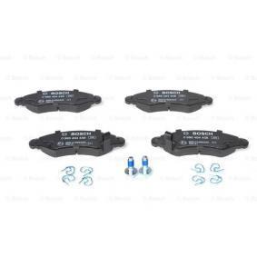 Bremsbelagsatz, Scheibenbremse Breite: 131mm, Höhe: 44,2mm, Dicke/Stärke: 15,5mm mit OEM-Nummer 4 704 578