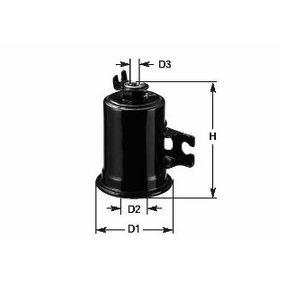 Kraftstofffilter Höhe: 105mm mit OEM-Nummer 1861003520