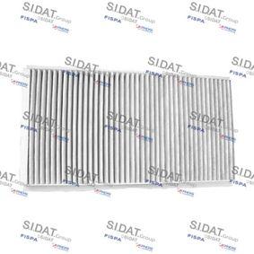 Filter, Innenraumluft Breite 1: 163mm mit OEM-Nummer A4158351300