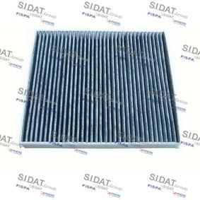Filter, Innenraumluft Breite 1: 231mm mit OEM-Nummer 01718 042