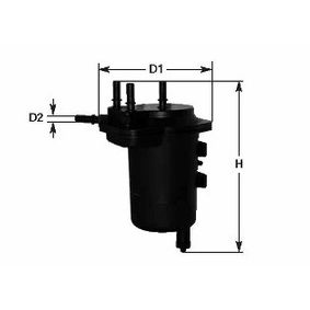 Fuel filter Height: 190mm with OEM Number 8200458337