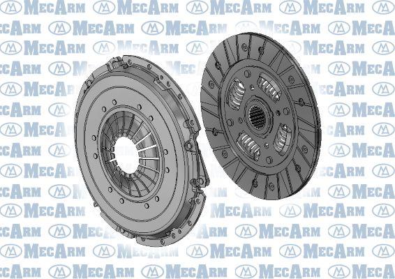 MECARM  MK10134D Kupplungssatz Ø: 218mm