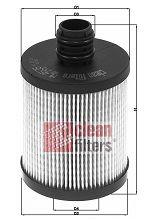 CLEAN FILTER  ML4505 Ölfilter Höhe: 102mm