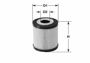 CLEAN FILTER  ML4509 Oil Filter Height: 101mm