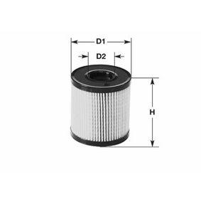 CLEAN FILTER  ML4536 Ölfilter Höhe: 111mm
