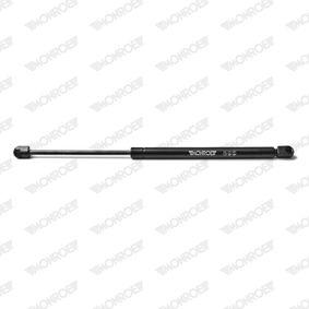 Heckklappendämpfer / Gasfeder Länge: 455mm, Hub: 164mm, Länge: 455mm mit OEM-Nummer 4652 4678