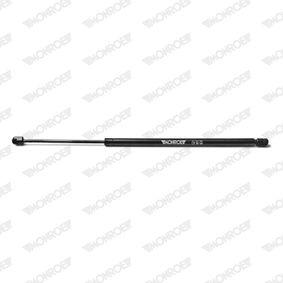 Heckklappendämpfer / Gasfeder Länge: 596mm, Hub: 190mm, Länge: 596mm mit OEM-Nummer 51248230070