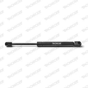 Heckklappendämpfer / Gasfeder Länge: 285mm, Hub: 95mm mit OEM-Nummer 9617046480
