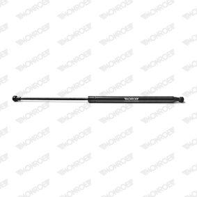 Heckklappendämpfer / Gasfeder Länge: 534,5mm, Hub: 220mm mit OEM-Nummer 8200000903