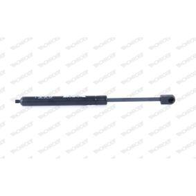 Gasfeder, Heckscheibe Länge: 288mm, Hub: 95mm, Ausschubkraft: 250N mit OEM-Nummer 9640894580