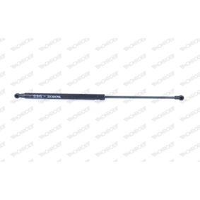Heckklappendämpfer / Gasfeder Länge: 523mm, Hub: 202mm mit OEM-Nummer 90450-BU000