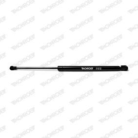 Heckklappendämpfer / Gasfeder Länge: 456mm, Hub: 165mm mit OEM-Nummer 50515442
