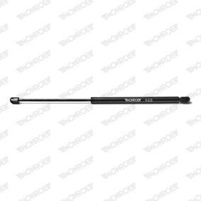 Heckklappendämpfer / Gasfeder Länge: 480mm, Hub: 195mm mit OEM-Nummer 81770 07000