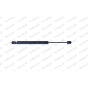 Heckklappendämpfer / Gasfeder Länge: 345mm, Hub: 122mm mit OEM-Nummer 8200 119 497