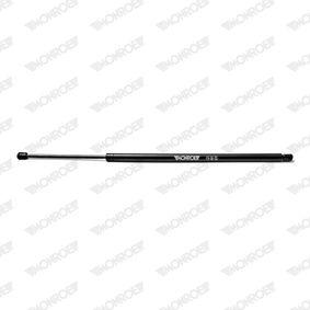 Heckklappendämpfer / Gasfeder Länge: 755mm, Hub: 210mm mit OEM-Nummer 7H0 827 550B