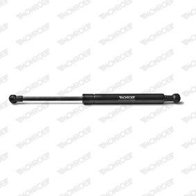 Heckklappendämpfer / Gasfeder Länge: 296mm, Hub: 95mm, Länge: 296mm mit OEM-Nummer 51247016186