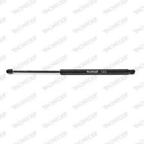 Heckklappendämpfer / Gasfeder Länge: 533mm, Hub: 220mm mit OEM-Nummer 8200461349