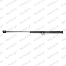 Heckklappendämpfer / Gasfeder Hub: 225mm mit OEM-Nummer 8X4827552