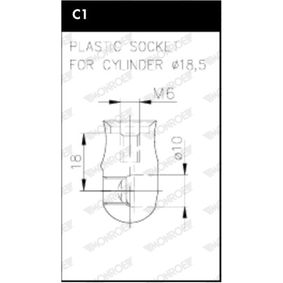 Heckklappendämpfer / Gasfeder ML6322 Rapid Spaceback (NH1) 1.6 TDI Bj 2018