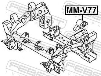 Lagerung, Differential FEBEST MM-V77 Bewertung