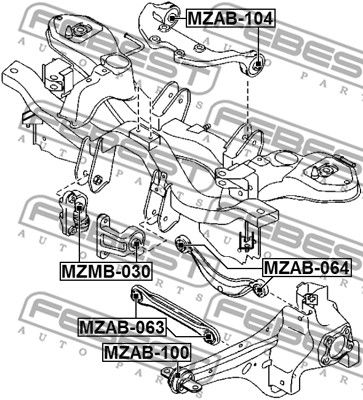 Lagerung, Differential FEBEST MZAB-104 Bewertung